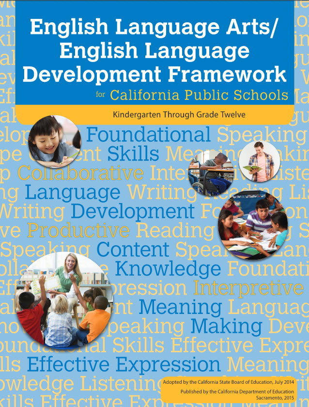 Image result for English Language Arts/English Language Development Framework.