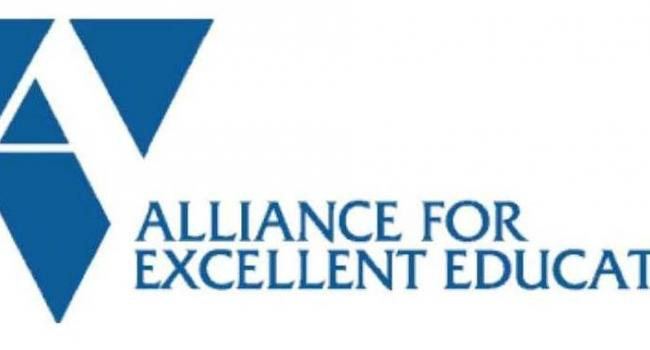 Alliance for Excellent Education logo.