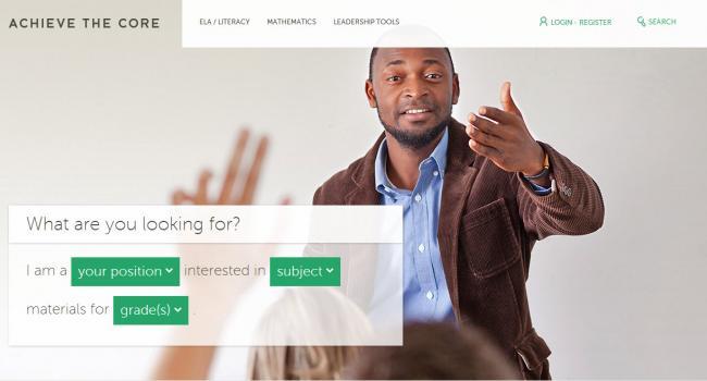 Screenshot of Achive the Core website.