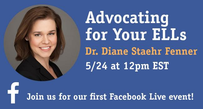 Information on the Facebook LIve event with Dr. Diane Staehr Fenner.