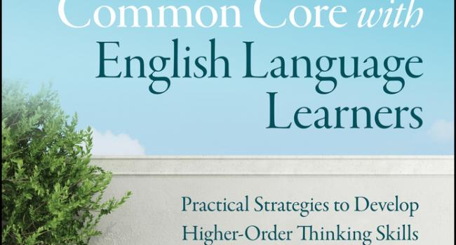 Cover of Navigating the Common Cor with English Language Learners.