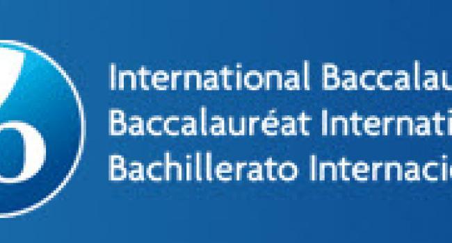 International Baccalaureate logo.