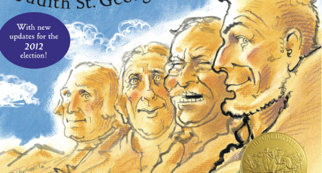 Illustration of Mount Rushmore.