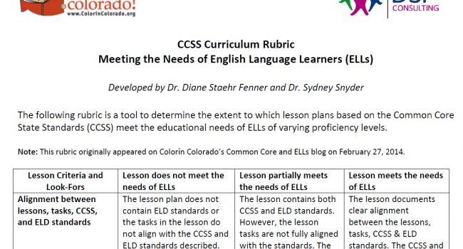 Blog Common Core Videos Lesson Plans Colorn Colorado