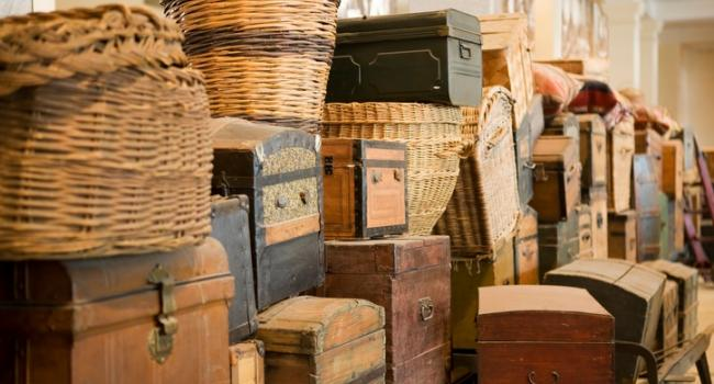 baskets and boxes