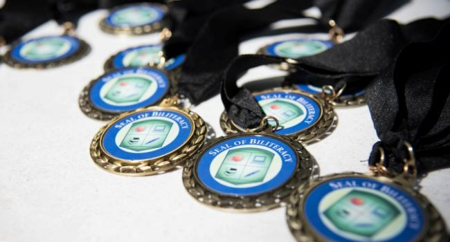 medals spread out