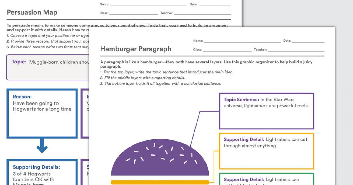 Graphic Organizers To Help Kids With Writing Colorin Colorado